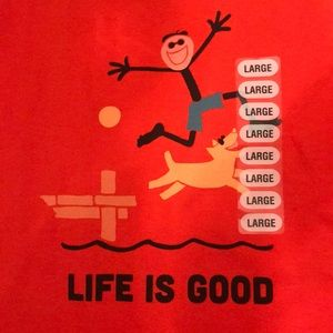 Life is Good boys shirt